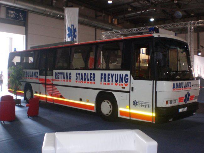 Ambulanzbusse bestehen Bewährungsprobe