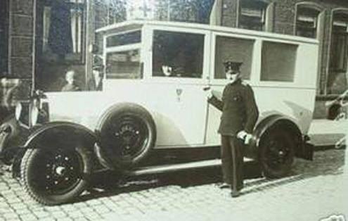 Historischer Rettungsdienst